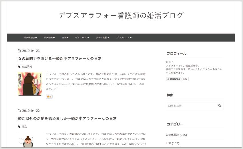 アラフォー男の婚活ブログ